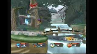 Digimon Rumble Arena 2: Veemon (Me) Vs. Agumon, Gabumon and Guilmon (CPUs)