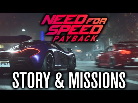 NEED FOR SPEED PAYBACK | STORY, MISSIONS, NEW CARS & MORE!