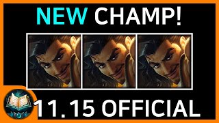 11.15 Patch Note (Final Changes)