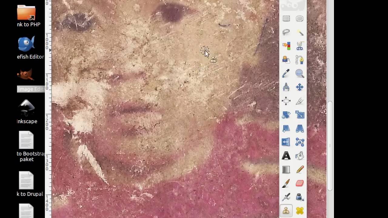 Memperbaiki Foto Yang Rusak Menggunakan Gimp Youtube