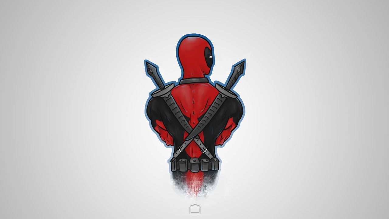 Deadpool Wallpaper SpeedPainting YouTube
