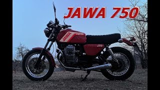 Jawa Tino 750 VTS First Ride !!!