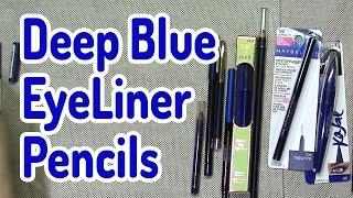 Blue Eyeliner gets a bad wrap! I happen to like deep blue eye liner...