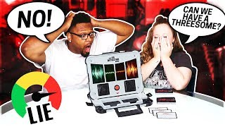 COUPLES LIE DETECTOR TEST! (HE CHEATED ON ME)
