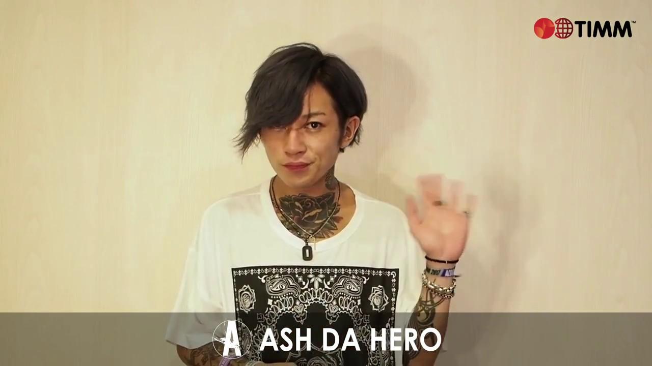 Message from ASH DA HERO - You...