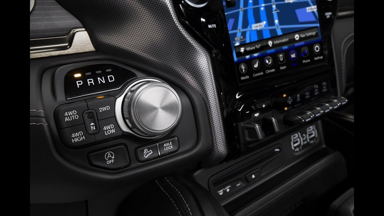 2019 Ram 1500 Interior Youtube