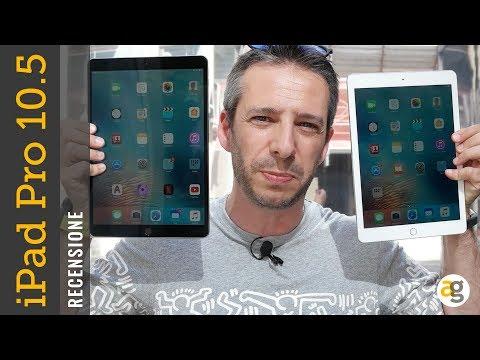 """Recensione NUOVO iPad PRO 10.5"""" e confronto VECCHIO PRO 9.7"""""""