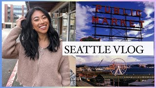SEATTLE VLOG - I CHOPPED MY HAIR! | Christine Le