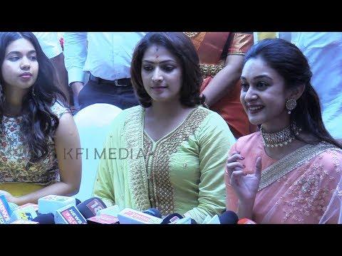 14 ವರ್ಷದ ಪ್ರೇಮ್ ಕಹಾನಿ ಬಗ್ಗೆ ಮಾತನಾಡಿದ ಅರ್ಜುನ್ ಸರ್ಜಾ ಮಗಳು   Arjun Sarja Daughter   Dhruva Engagement