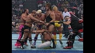 World War III 1995: Randy Savage wins the first 60-Man Battle Royal