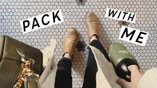 Pack With Me! Zero Waste Travel Essentials & Packing Organization | Alli Cherry