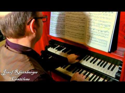 Willem van Twillert plays Rheinberger (1839-1901) Cantilene [Urtext] , Meere-organ Epe