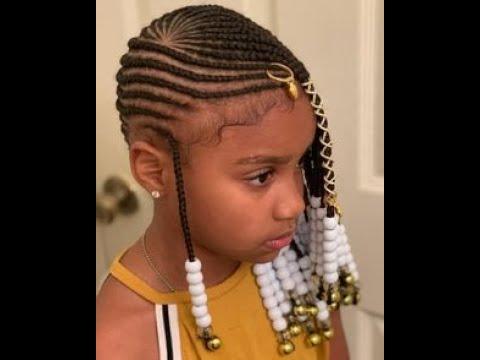 modèles coiffure, tresse africaine pour fille