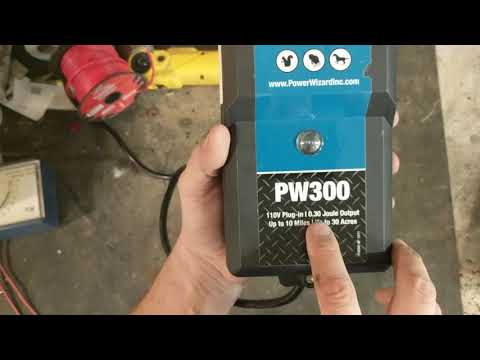 Power Wizard PW300 Fence Energizer