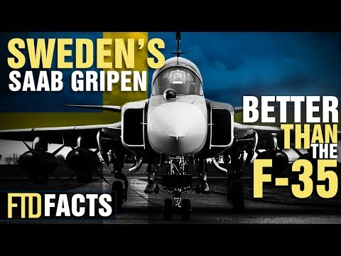 10+ Incredible Facts About Sweden's SAAB GRIPEN Fighter Jet