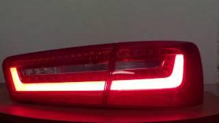 Имитация динамических поворотников Audi