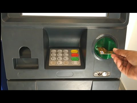 ATM Machine Use How To Withdraw Money In English