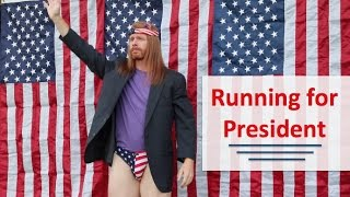 Running for President - Ultra Spiritual Life episode 42