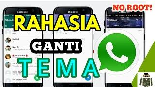 Rahasia Cara Mengubah Warna Tampilan Whatsapp (Tanpa ROOT/Tanpa MOD)