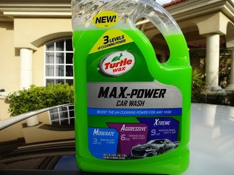 Turtle Wax Max Power Car Wash Review and Test Results