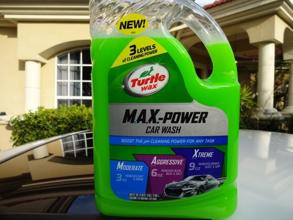 turtle wax max power car wash review and test results. Black Bedroom Furniture Sets. Home Design Ideas