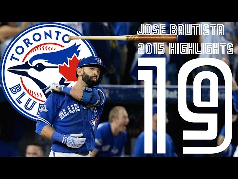 Jose Bautista | Toronto Blue Jays | 2015 Highlights Mix ᴴᴰ