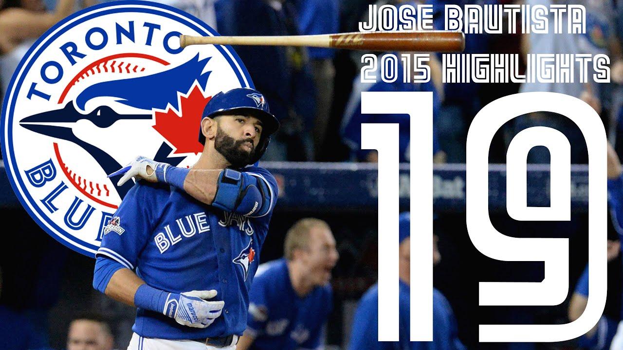 Jose Bautista | Toronto Blue Jays | 2015 Highlights Mix ᴴᴰ