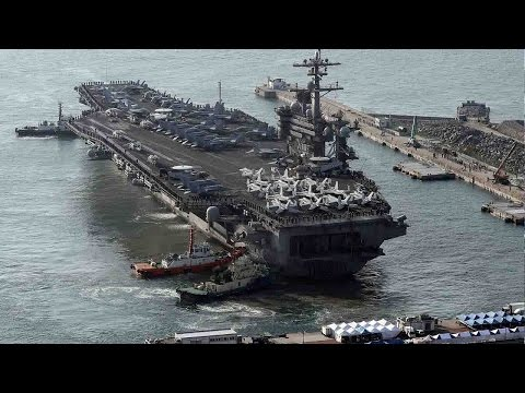 USS Carl Vinson returns to Korean Peninsula for another military drill