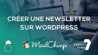 S'inscrire à la Newsletter sur WordPress : Mailchimp & Contact Form 7 - Hacking SEO
