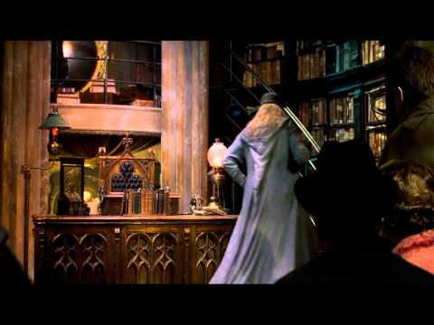You Cant Deny... Dumbledore's Got Style !!!  (Fawkes Rescues Dumbledore)