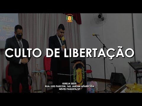 Culto Curas & Libertação   15/10/2020
