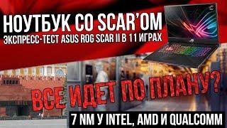 Лимит или перспектива - 7, 5 и 3 nm - и экспресс-тест ASUS ROG Scar II с GTX 1070 и i7-8750H