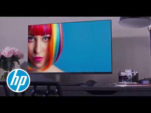 wir stellen vor den hp envy 27s 4k monitor atemberaubend bis ins kleinste detail youtube. Black Bedroom Furniture Sets. Home Design Ideas