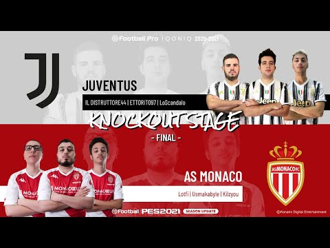 Final | Juventus vs. AS Monaco | Highlights eFootball.Pro IQONIQ Knockout Stage 2020-2021