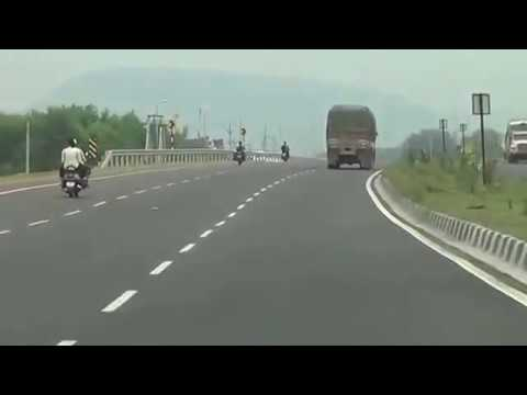 Indian Roads NH 16 Road fro Chennai to Kolkata IN AP iNDIA  06 11 2014
