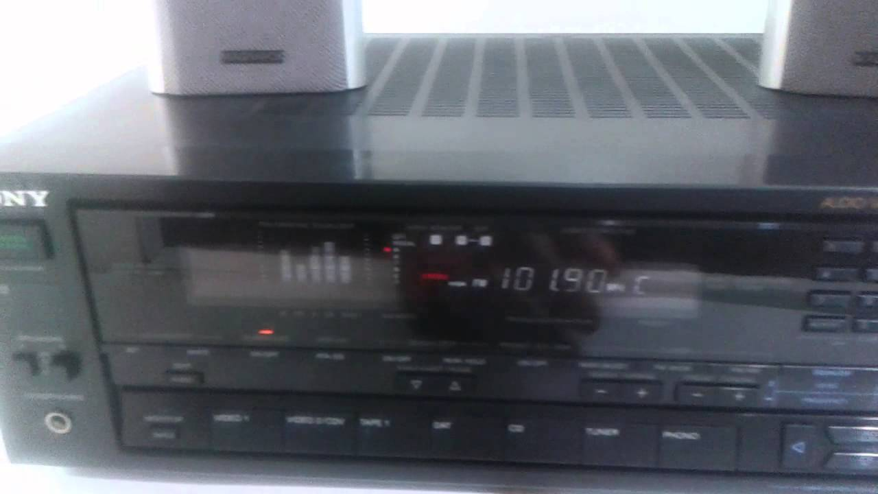 sony str av710 fm am receiver turner amplifier sony str av710 fm am receiver turner amplifier