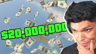 spending 20 MILLION DOLLARS in GTA 5