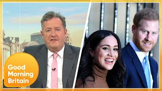 GMB Discuss Prince Harry & Meghan's Bombshell Oprah Interview | Good Morning Britain