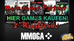 MMOGA - Neuer Partner + 3% Rabattcode für EUREN Einkauf - Games günstig kaufen