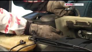 Peugeot 407 - FRONT - Передние амортизаторы KYB установка