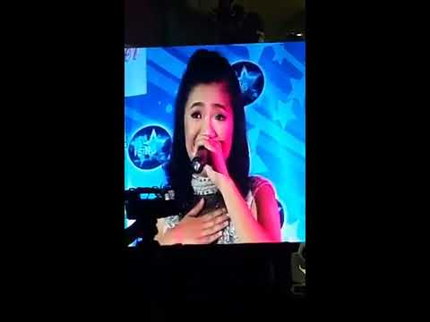 Kathleen Anne Galula's rendition of I Believe I Can Fly - Yolanda Adams version