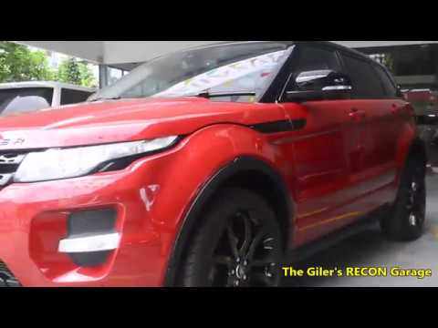 RANGE ROVER 2.0 EVOQUE Si4 DYNAMIC 2013 RED - YouTube 7c364d8cc1