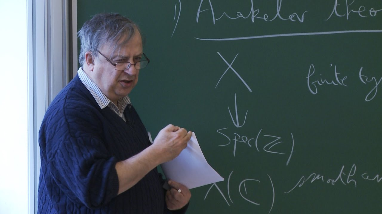 Christophe Soulé - 1/4 On the Arakelov theory of arithmetic