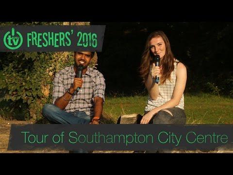 Freshers' 2016 | Tour of Southampton City Centre