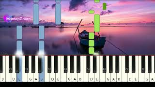 ED SHEERAN - THINKING OUT LOUD - Very Easy Piano Tutorial MantapChord