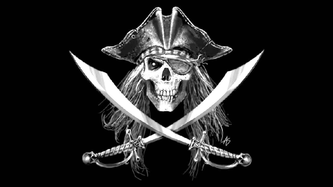jolly rogers The jolly roger (ドクロ dokuro), also known as a pirate flag (海賊旗 kaizoku-ki) is the traditional flag of european and caribbean pirates, envisioned today as a skull over crossed thigh bones on a black field.