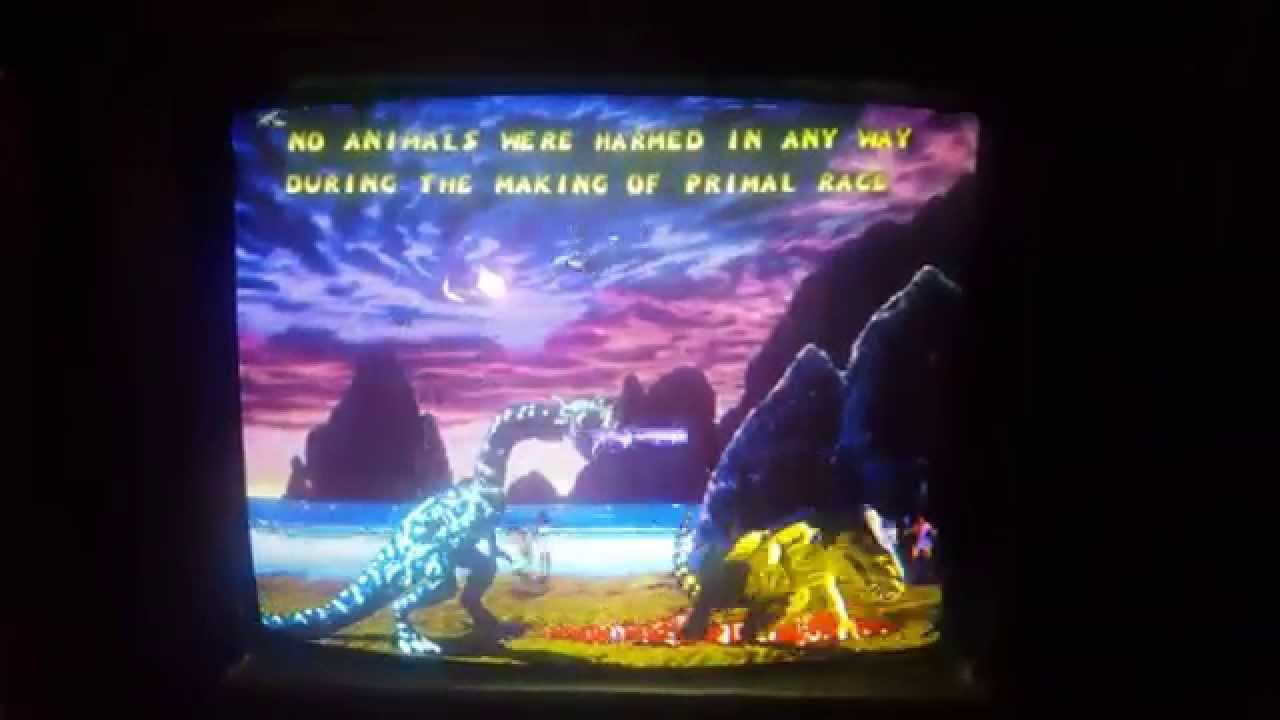 Primal Rage Arcade 2.3 on Jamma Cabinet - YouTube