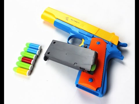 Unboxing Pistola Colt m1911 de brinquedo (Aliexpress)