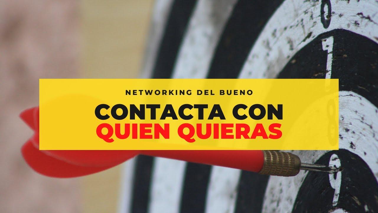 RED DE CONTACTOS / Cómo construir una red de contactos poderosa. Storytelling Emprender
