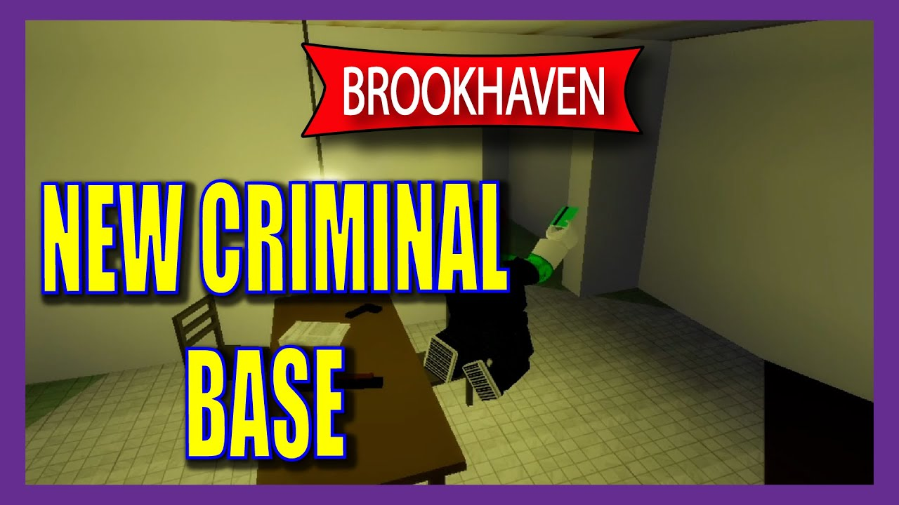 New Criminal Base Location (huge map update) Brookhaven Roblox